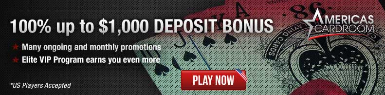 Play Now at Americas Cardroom!