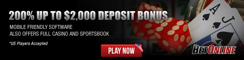 Play Now at Bet Online!