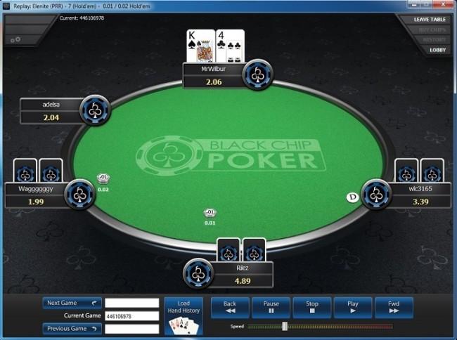 hand poker replayer