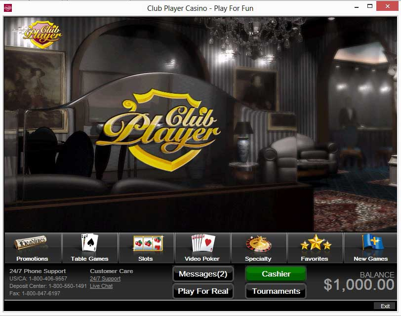club player casino coupon