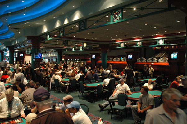 biggest poker rooms