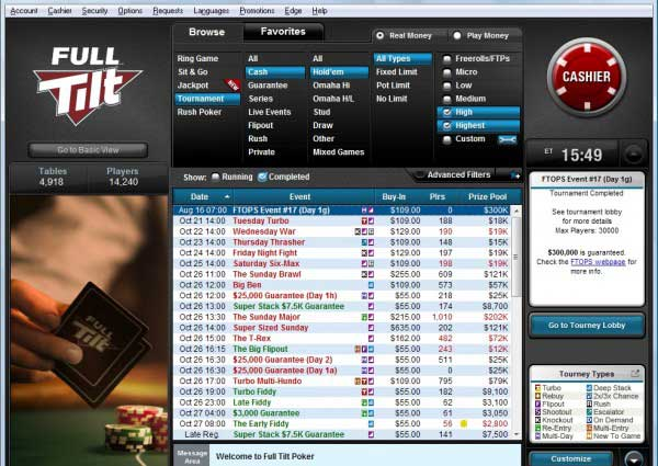 full tilt poker mac os x download