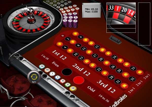 Casino ladbrokes roulette type