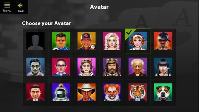 Mobile Poker Avatar at Ladbrokes