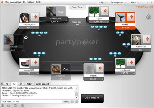 Party poker support phone number