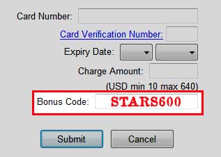 pokerstars star codes
