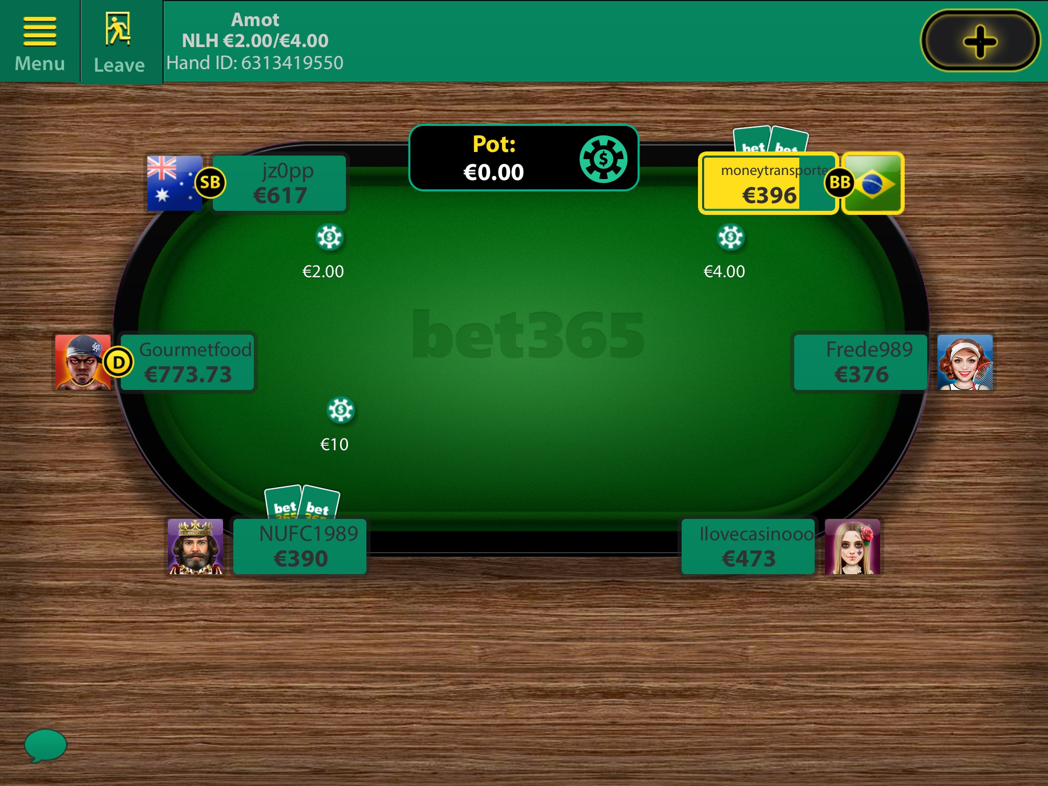 bet365 poker mac