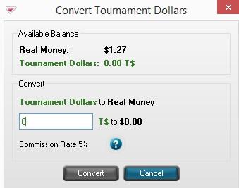 Tournament Dollars