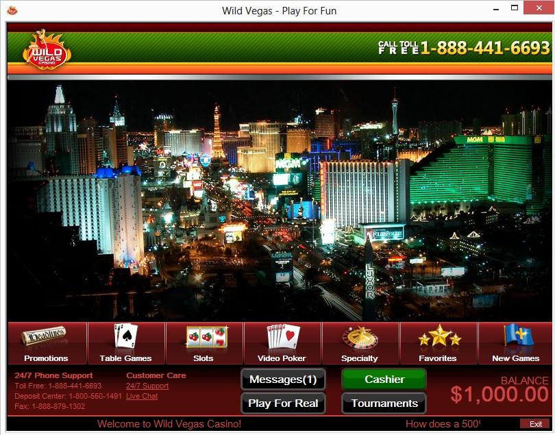 Wild vegas casino no deposit bonus best safest online casino