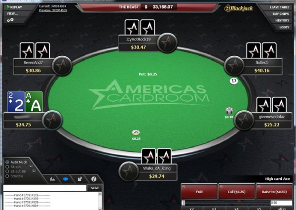 Poker rooms usa friendly
