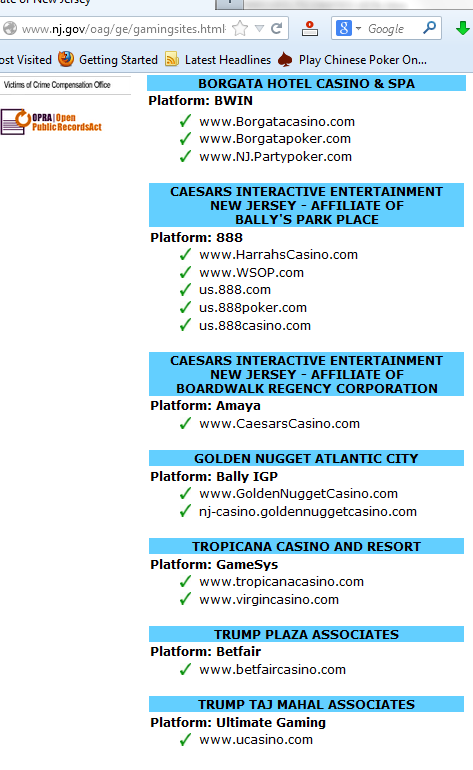 Online Poker in New Jersey - Borgata and Caesars are leading the