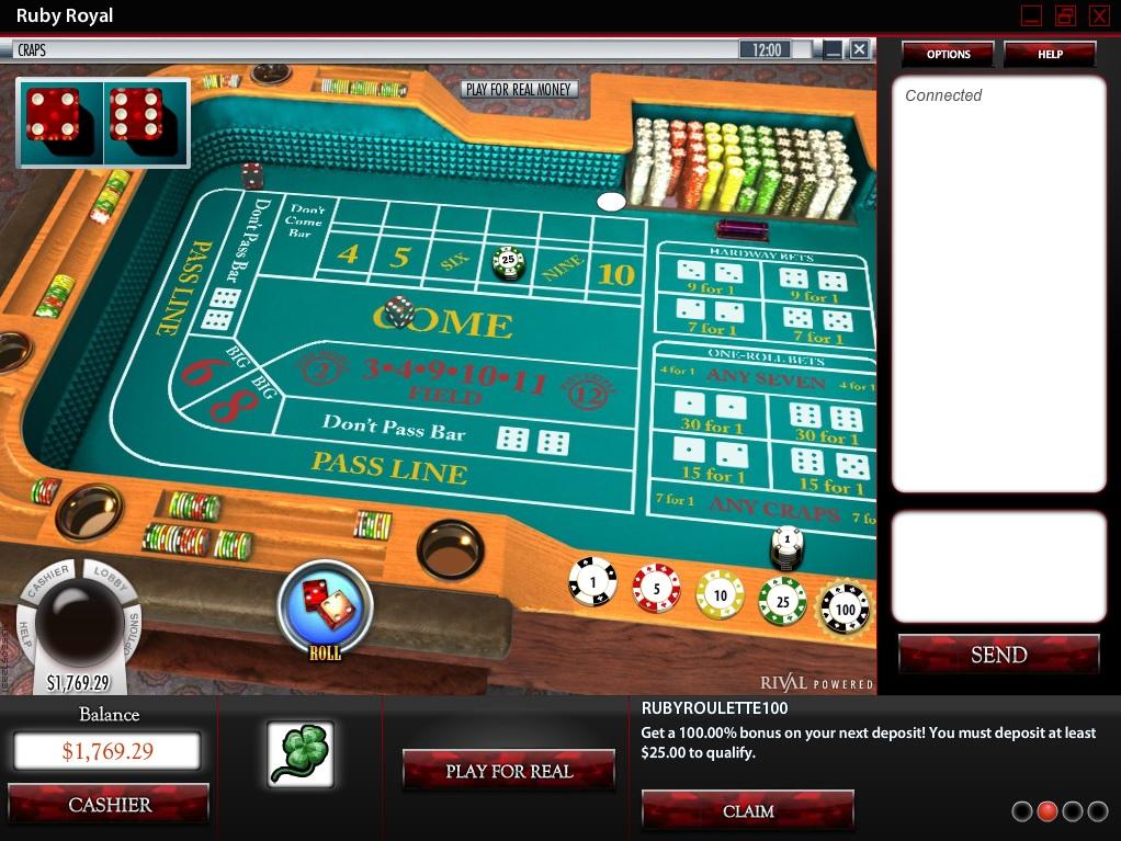 ruby royal casino