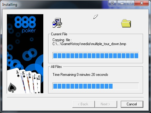 888 poker download virus