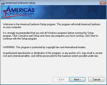 Americas Cardroom Download