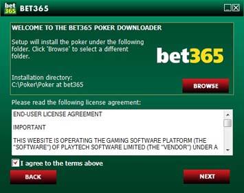 bet365 Poker Download