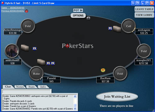 Free 5 card draw poker no download