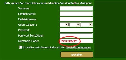 CDPoker Bonus Code: POKERMTT