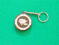 Full Tilt Poker Chip Bottle Opener Keychain