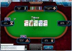 Full Tilt Poker Cash Table (Racetrack)
