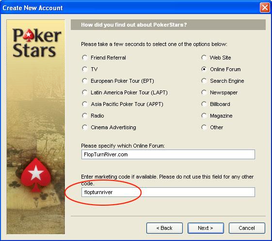 Pokerstars personal information