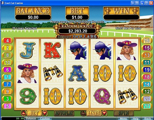 Cool Cat Casino Derby Dollars Slots