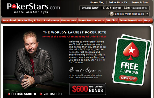 pokerstars com free download