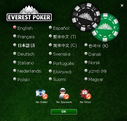 everest poker login
