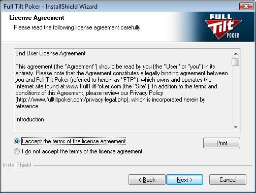 How to Deposit at Full Tilt Poker
