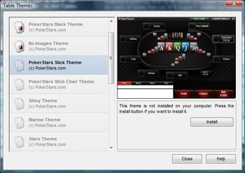 PokerStars Skins