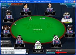 Full Tilt Poker Rush Poker: Quick Fold