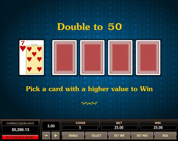 Video Poker Double