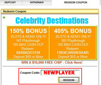Cirrus Casino Coupon Code: 25NEWPLAYER