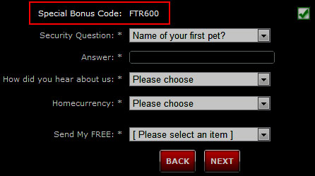 PokerView Bonus Code: FTR600