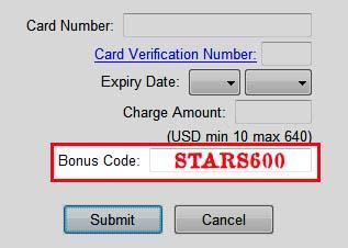 PokerStars Bonus Code: STARS600