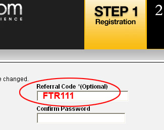 Ultimate Bet Referral Code: FTR111