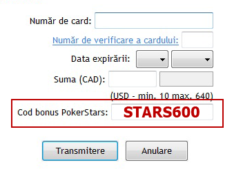 Pokerstars Ro