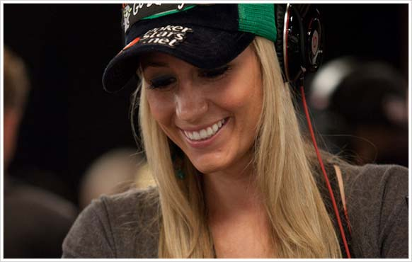 Vanessa Rousso from Team PokerStars