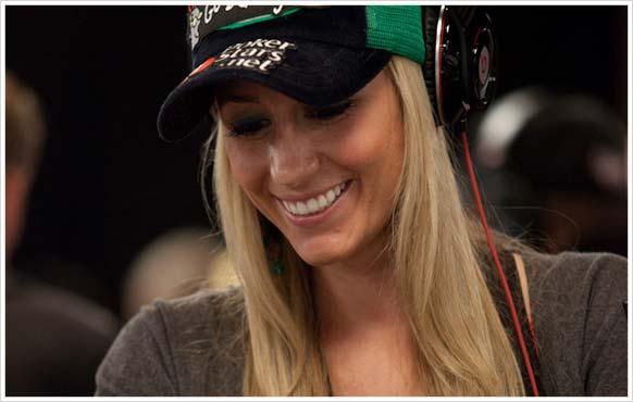 Vanessa Rousso from Team PokerStars