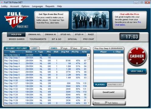 Full Tilt Poker.Net