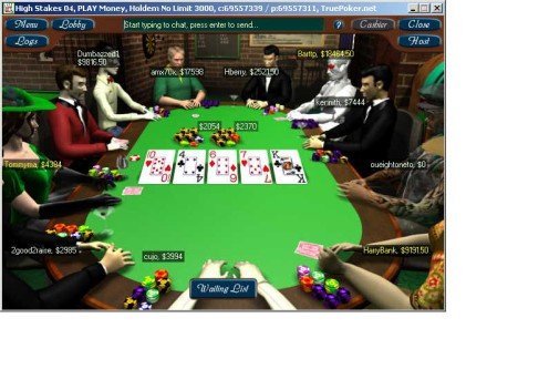 True Poker Table