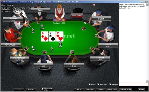 VC Poker Table