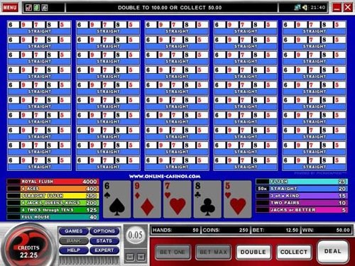 32red Casino Video Poker