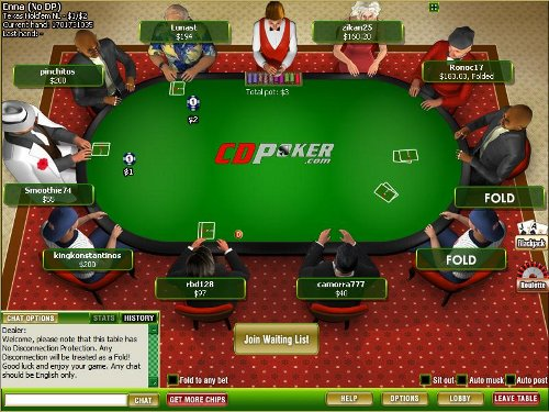 CDPoker Table