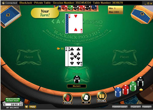 Caesars Casino Online Blackjack