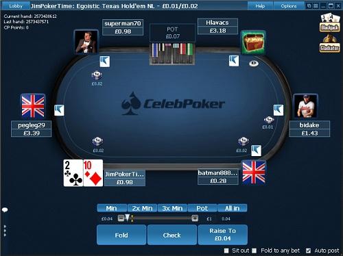 Celeb poker ipoker mr green poker