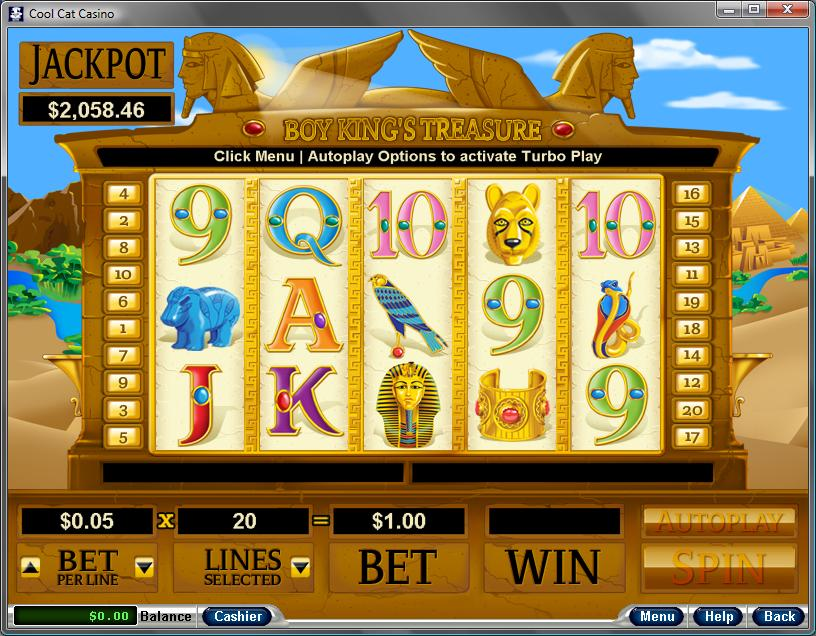 Cool Cat Casino Slots