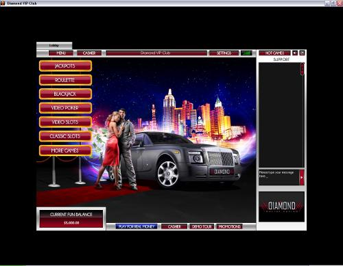 diamond vip club casino download