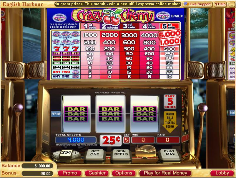 casino slot online english s