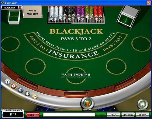 Fair Poker Blackjack