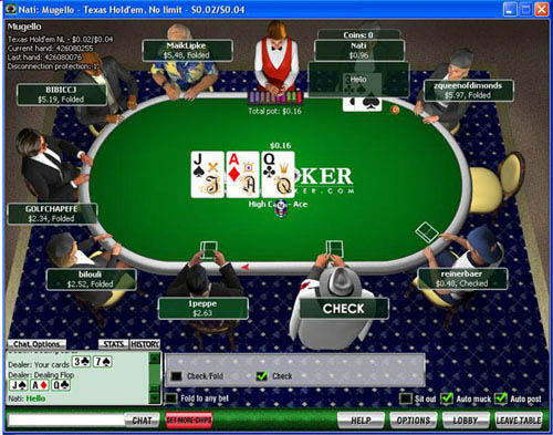 Fair Poker Table